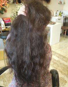 Наращивание волос в салоне VEROSSA.