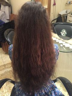 Наращивание волос на короткие волосы в Москве.