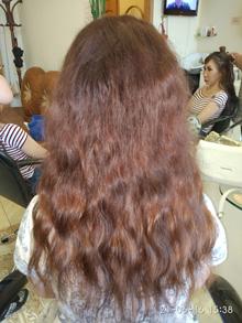 Наращивание коротких волос в Москве.
