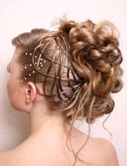Нарощенные волосы на заколках