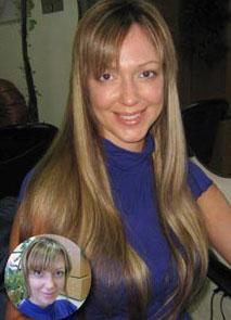 Наращивание волос в Москве салон VEROSSA