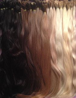 Наращивание волос в Москве, в студии мастерской VEROSSA